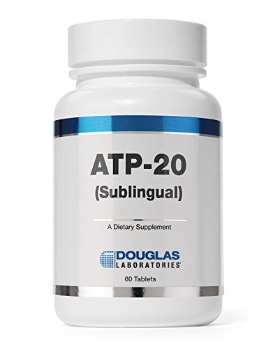 Douglas Laboratories - ATP-20 (Sublingual) - Adenosine Triphosphate Dissolvable Tablet for Cellular Energy Support* - 60 Tablets ()