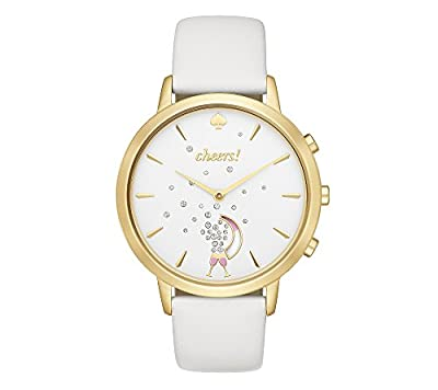 kate spade new york Leather Metro Hybrid Smart Watch from Kate Spade New York