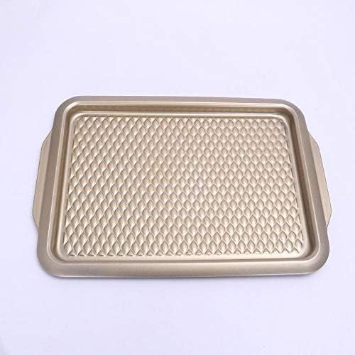 NoBrand Poisson modèle série Plaque Peu Profonde Pression châssis Diamant Motif gâteau Moule en Acier au Carbone Barbecue Plaque
