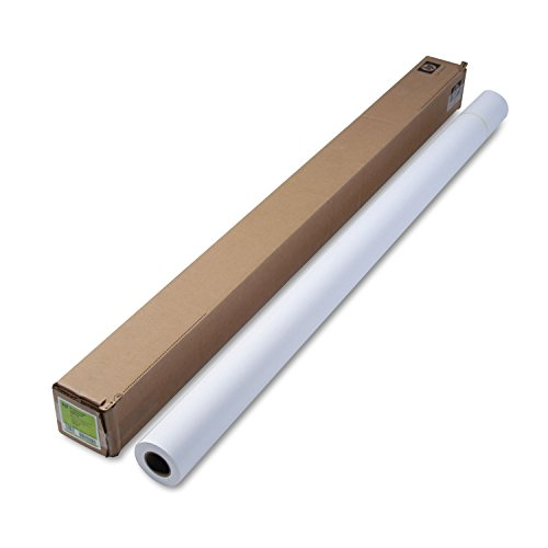 HP C6977C Designjet Inkjet Large Format Paper, 35 lbs., 60'' x 100 ft, White by HP