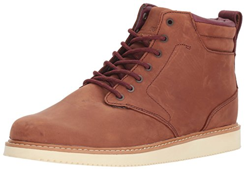 Dc Shoes Boots (DC Men's Mason LX Ankle Boot, Tobacco, 13 D D US)