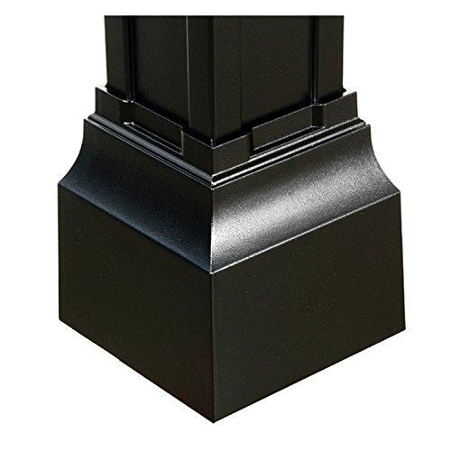 (Balmoral Post Base Cuff in Black)