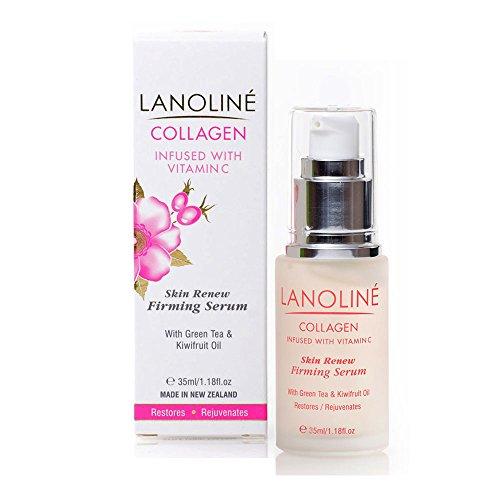 Lanoline Collagen, Vitamin C Anti Aging Anti Wrinkle Skin Renew Firming Serum