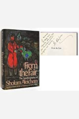 From the Fair: The Autobiography of Sholom Aleichem Hardcover