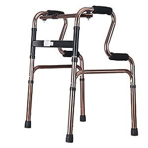 Muletas Anciano Caminante Adulto Caminando Ayudar A Los Ancianos ...