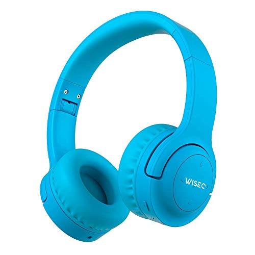 WISEQ Hero Voor Kinderen Tot 12 Jaar, Draadloze Bluetooth Koptelefoon Kind met Volumebegrenzer, Fantastisch Geluid en 20…