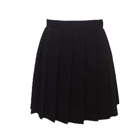 QZBTU Faldas Mujer Faldas De Niñas Faldas De Colegialas Plisadas ...