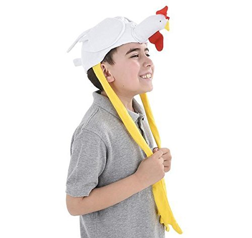 "22"" CHICKEN HAT, Case of 72 by DollarItemDirect"