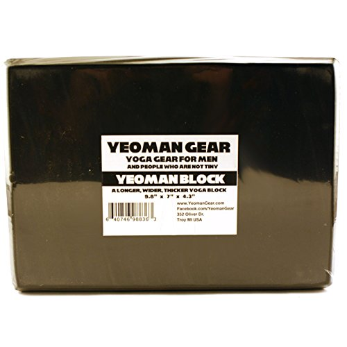 Yeoman Gear - Extra Large Yoga Block for Men