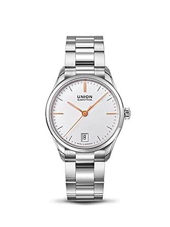 Union Glashütte Viro Datum Damen: : Uhren