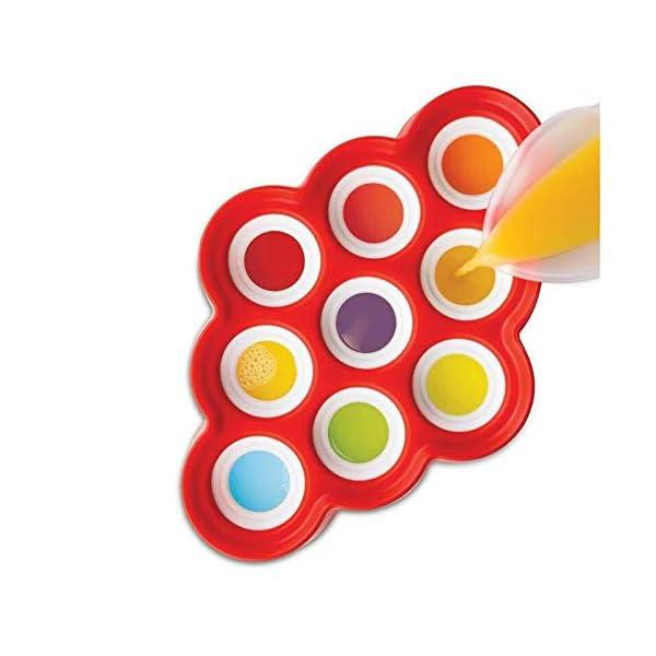 Depory Stampi per ghiaccioli - Estate DIY Popsicle Stampi con Coperchio, stampi per ghiaccioli in plastica, Non tossico… 2 spesavip