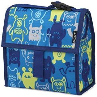 PackIt - Bolsa de almuerzo congelable, color del monstruo: modelo de monstruo PKT-MC-MON: Amazon.es: Bebé