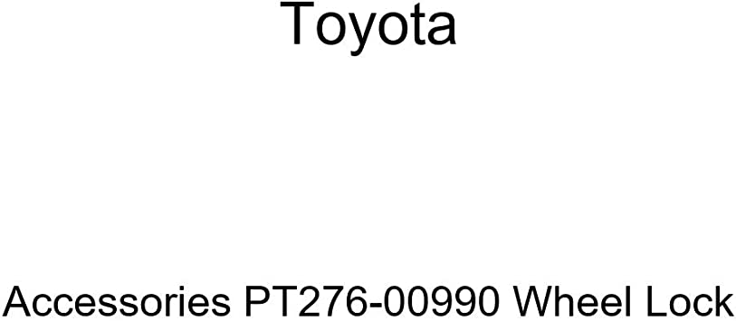 Wheel Lock Pouch PT276-06999 Genuine Toyota