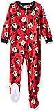 Disney Boys' Toddler Mickey Mouse Fleece Footed