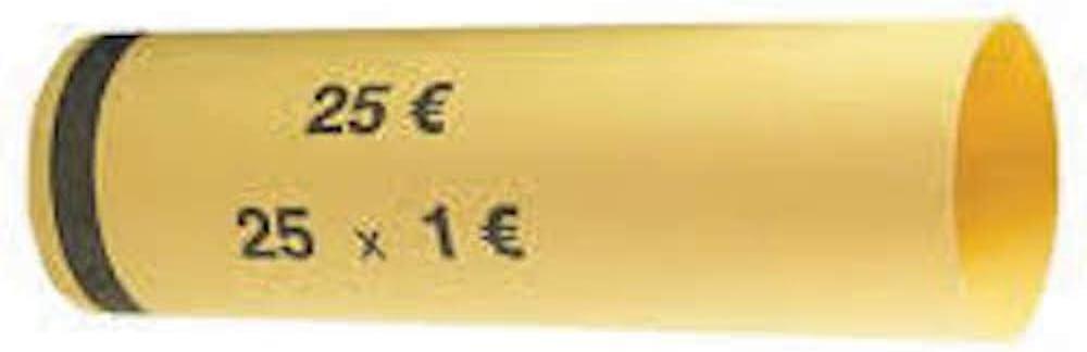 1000 St/ück CECONCEPT L1000TP100 Papierh/üllen 1,00 Euro