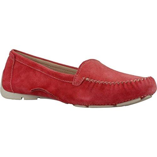 Mocasines para mujer, color Rojo , marca STONEFLY, modelo Mocasines Para Mujer STONEFLY CRAFT DENIM Rojo Rojo