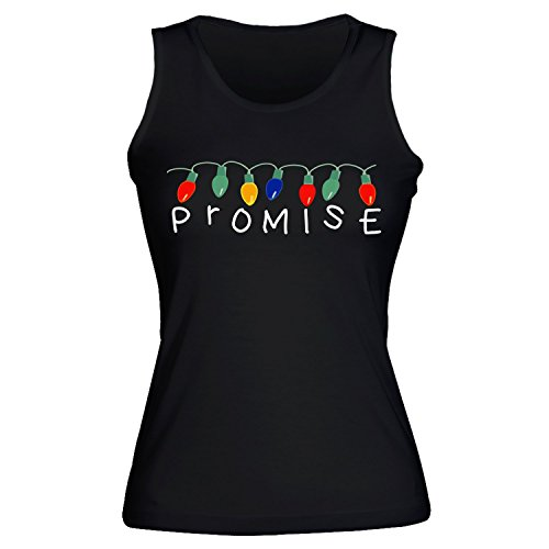 Cool Christmas Lights With Alphabet. Promise. Women's Pour des Fommes Tank Top Shirt