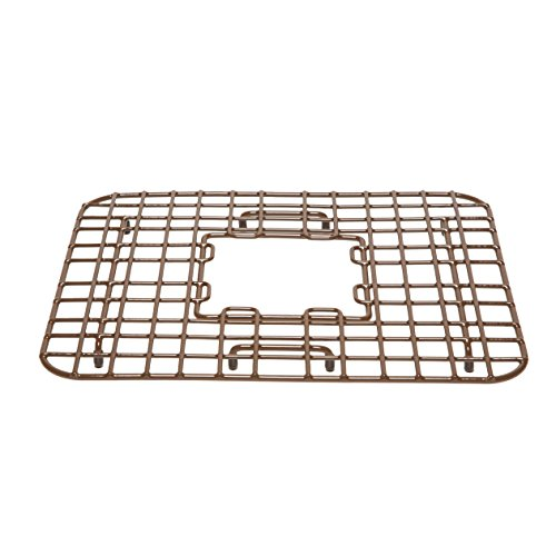Sinkology Sullivan 18-inch Copper Kitchen Sink Bottom Grid