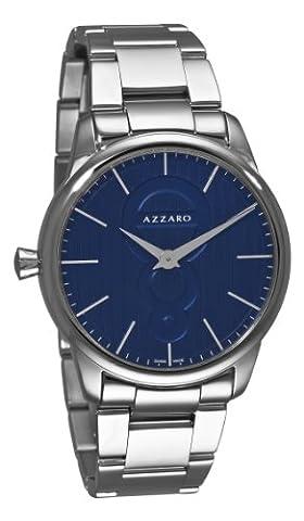 Azzaro Men's AZ2060.12EM.000 Legand Blue Dial Bracelet Watch (Azzaro Men Quartz)
