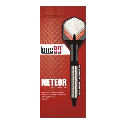 One80 Meteor Steeltip Dart - Silver, Size 22