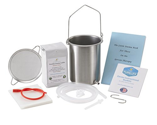 PureLife Coffee Enema Stainless Steel