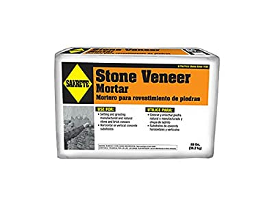 SAKRETE OF NORTH AMERICA 65303105 80 lb Stone Veneer Mortar