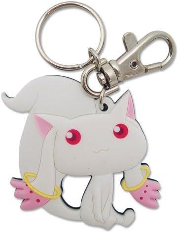Puella Magi Madoka Magica Incubator QB Bag Pendant Keychain Cosplay Keyring Gift