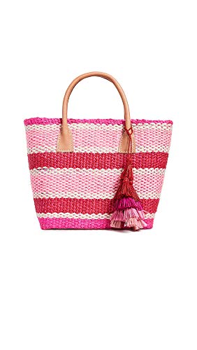 (Hat Attack Women's Small Provence Tote, Pinky Stripe, One Size)