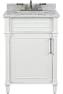 Amazon Com Home Decorators Aberdeen 60 Double Bath Vanity Grey W Marble Top In White Home Improvement