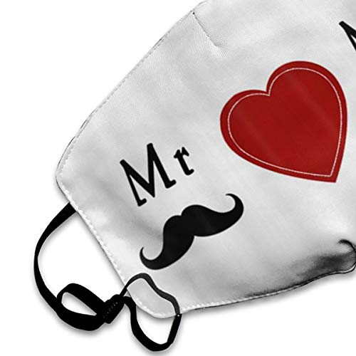 NOT My Love Bride Groom Mr & Mrs Personality Lovely Unisex Dust Mask, Suitable for Young Men and Women, Ski Bike Camping Windproof Motorcycle Face Mask