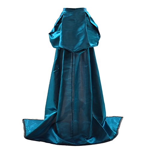 GRACEART Burlesque Trailing overskirt Bustle Train Rococo Gown