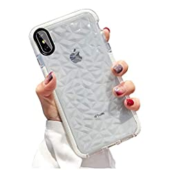 KUMTZO Compatible iPhone Xs/X Case, Crys...