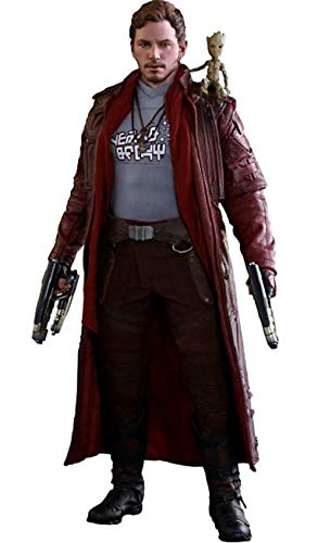 Hot Toys Guardians of the Galaxy Vol 2 Series Star Lord Deluxe Version  Aktionfigu