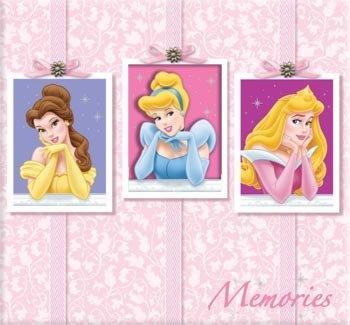 - Disney Scrapbook Album 12 Inch x12 Inch -Princess Memories