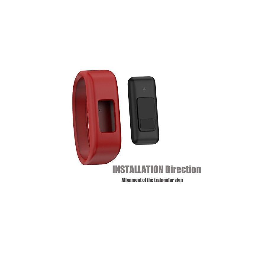 NotoCity Compatible Garmin Vivofit JR Bands Soft Silicone Replacement Watch Bands Garmin Vivofit JR/Vivofit 3