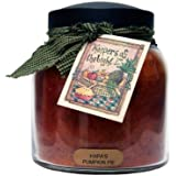 A Cheerful Giver Papa's Pumpkin Pie Papa Jar Candle, 34-Ounce