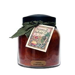 A Cheerful Giver Papa\'s Pumpkin Pie Papa Jar Candle, 34-Ounce