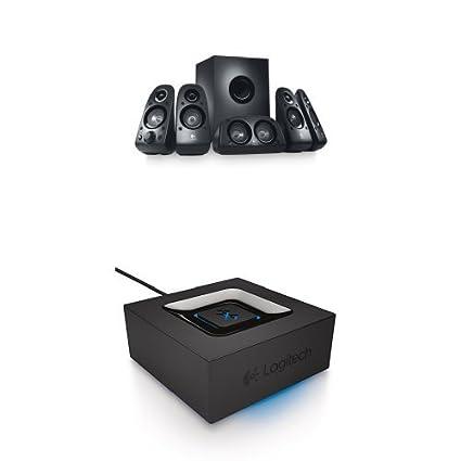 0166b747e07 Amazon.com: Logitech Z506 Surround Sound Speakers with Bluetooth Audio  Adapter: Electronics