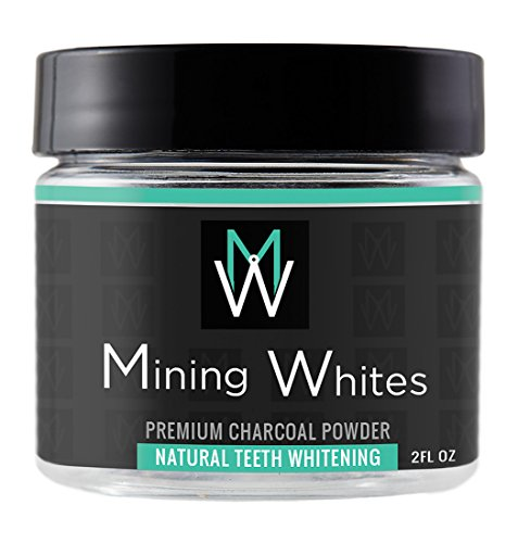Natural Teeth Whitening Powder - Tooth Stain Fighter - Organic Coconut Activated Charcoal - Proudly Made in the USA