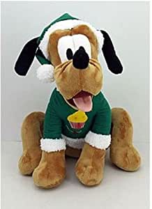 17 Inch Disney Pluto Plush Christmas Holiday Decor