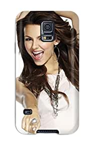 New RwyLIIx11705NIDYX Victoria Justice Tpu Cover Case For Galaxy S5