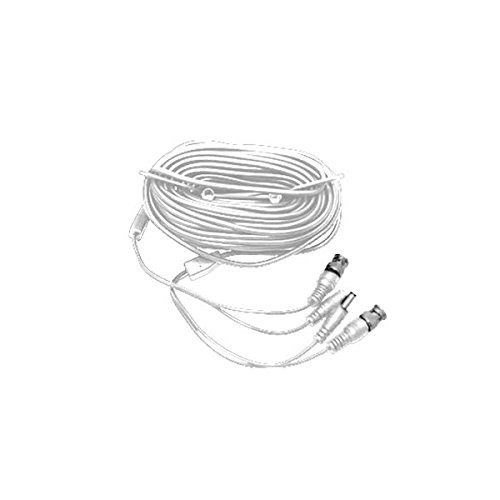 Pre-Made Siamese Cable with Connectors – 60ft White LTAC2150W