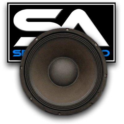 Seismic Audio - 12'' Raw Woofer/Speaker - PA/DJ - Replacement PRO AUDIO by Seismic Audio