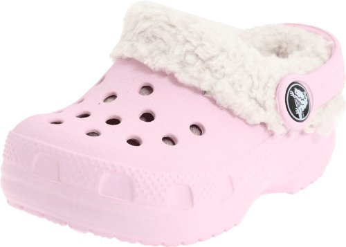 - Crocs Littles Mammoth Fuzzy Clog (Infant/Toddler),Bubblegum,2-3 M US Infant