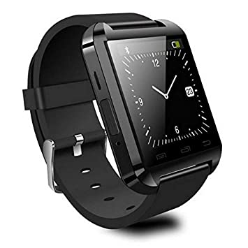 Reloj Inteligente Smartwatch Bluetooth Negro con notificaciones y lectura de Whatsapp: Amazon.es: Electrónica