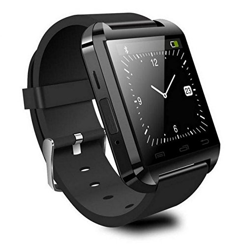 Reloj Inteligente Smartwatch Bluetooth Negro con notificaciones y lectura de Whatsapp: Amazon.es: Electrónica