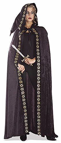Deluxe Velvety Wizard Witch Scrollwork