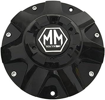 Mayhem wheels C709501B C108060B 71312090F-12 Black Wheel Center Cap