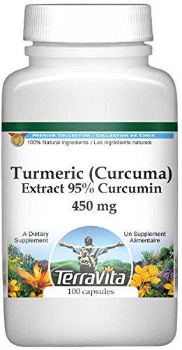 Turmeric (Curcuma) Extract 95% Curcumin - 450 mg (100 Capsules, ZIN: 517042)