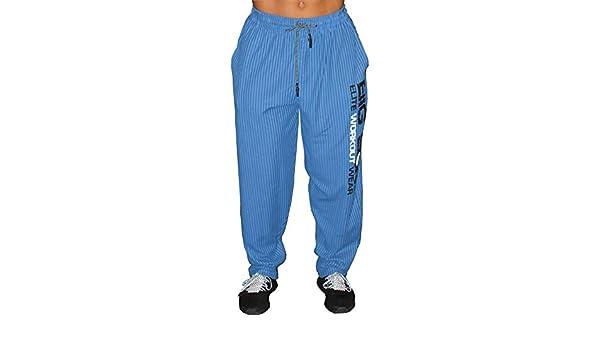 BIG SAM SPORTSWEAR COMPANY Bodybuilding Mens Baggy Track Pants Bodypants 1024